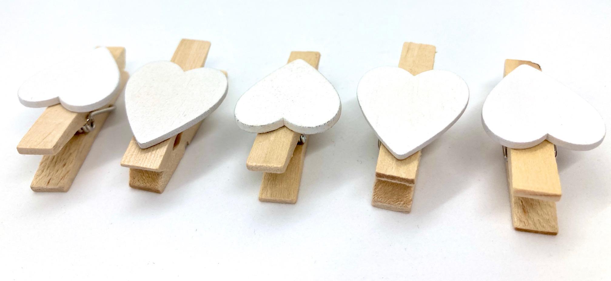 10 herzige Kluppen aus Holz