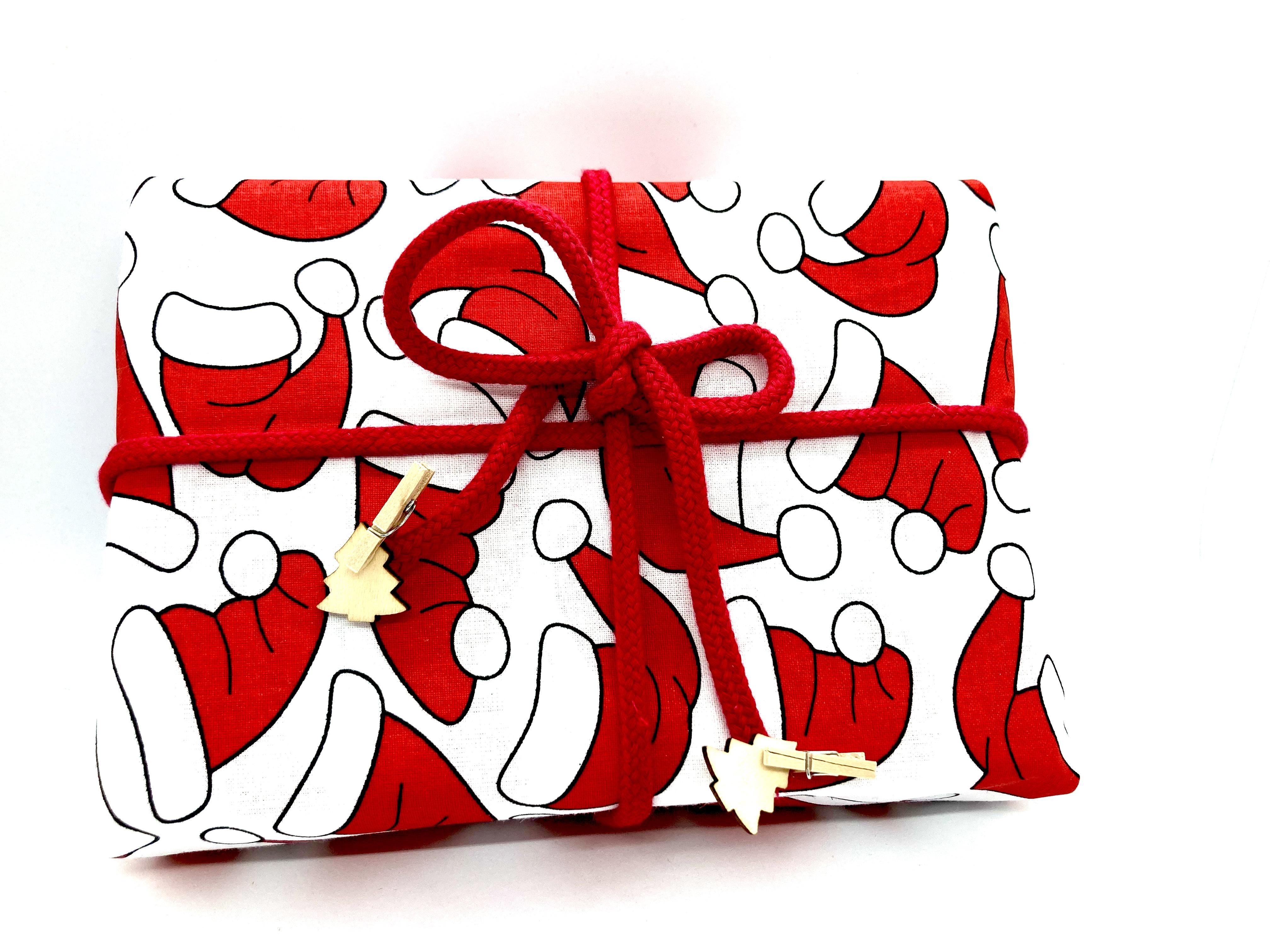 Advent mit Weihnachts-Mütze (70x50cm)
