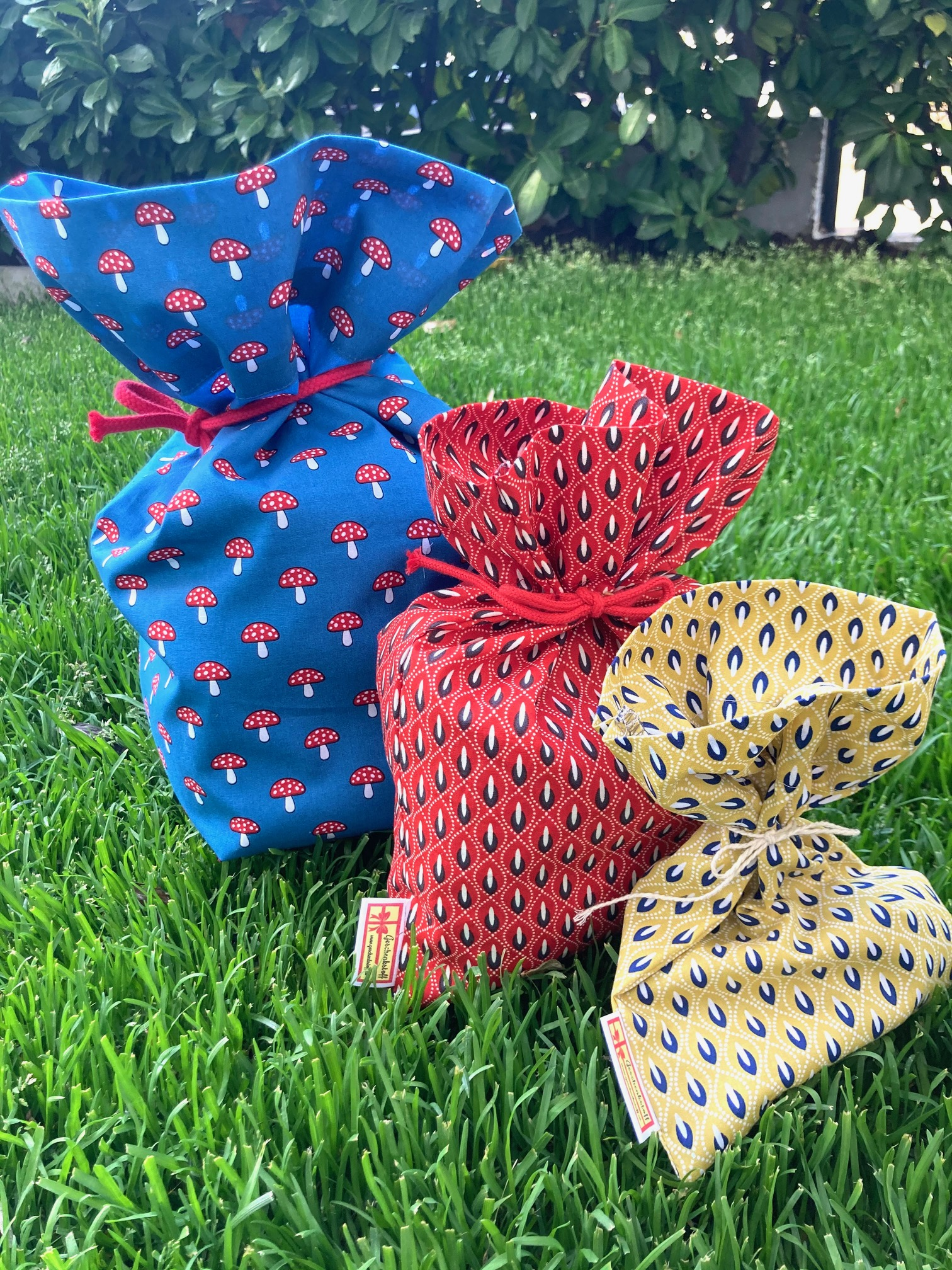 Alles Einfach: Mandala-Geschenkstoff-Sackerl