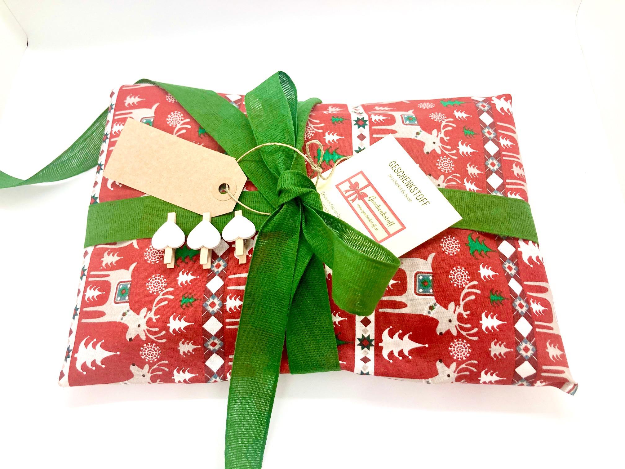 Weihnachten: Schenk doch mal Geschenkstoff