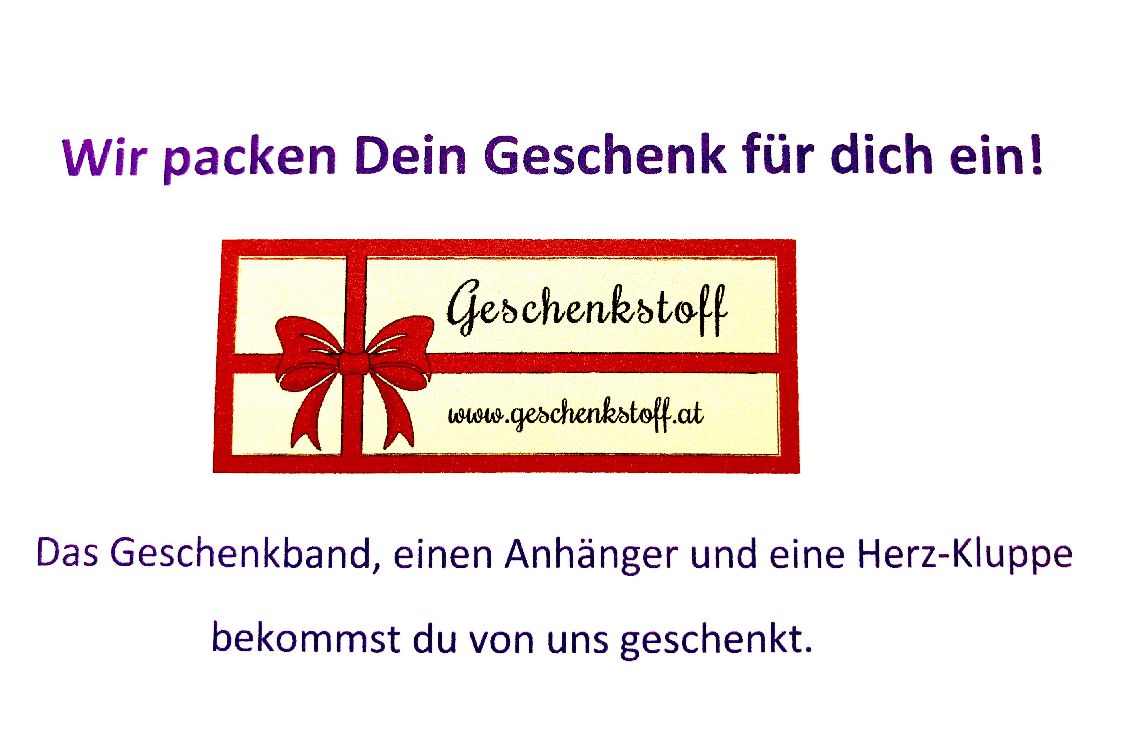 Das perfekte Geschenk: Schenk Geschenkstoff, den du aussuchst