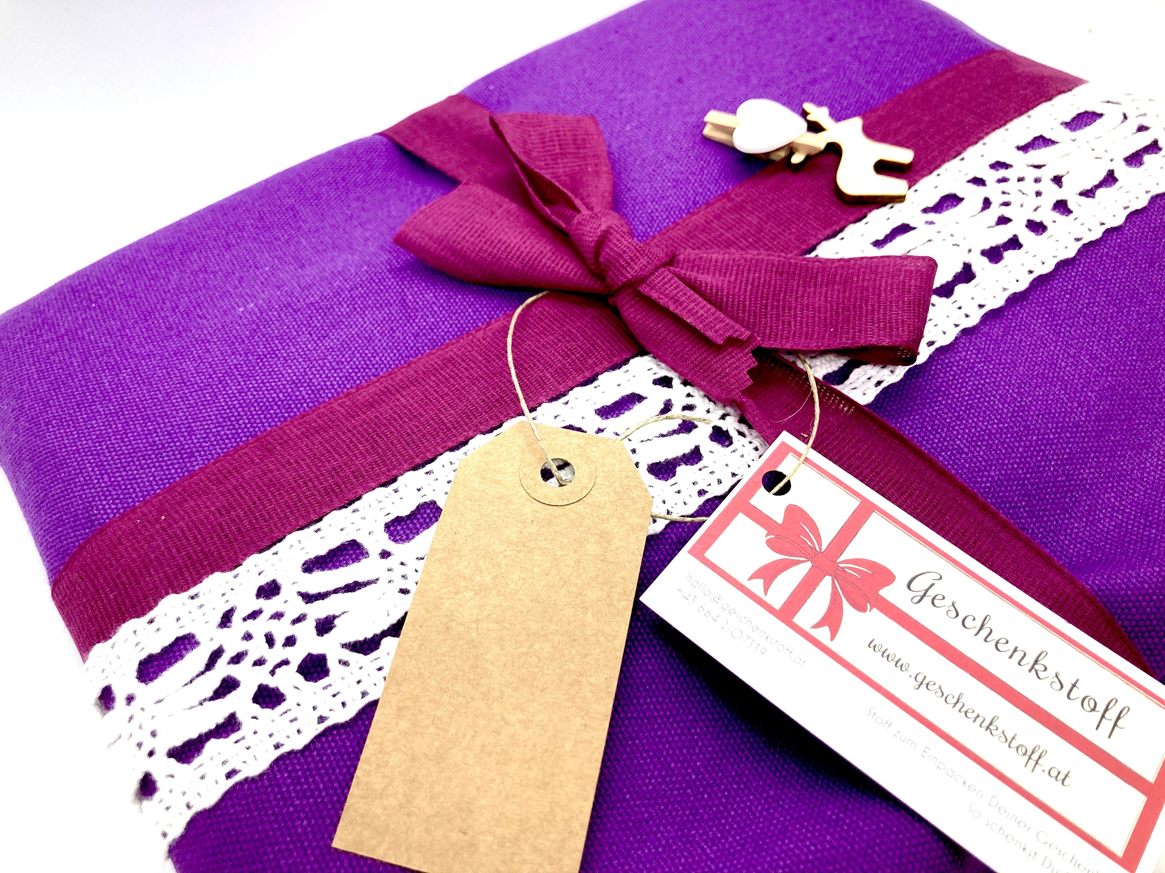 Advent: Violett ist nett (70x50cm, 100x80cm)