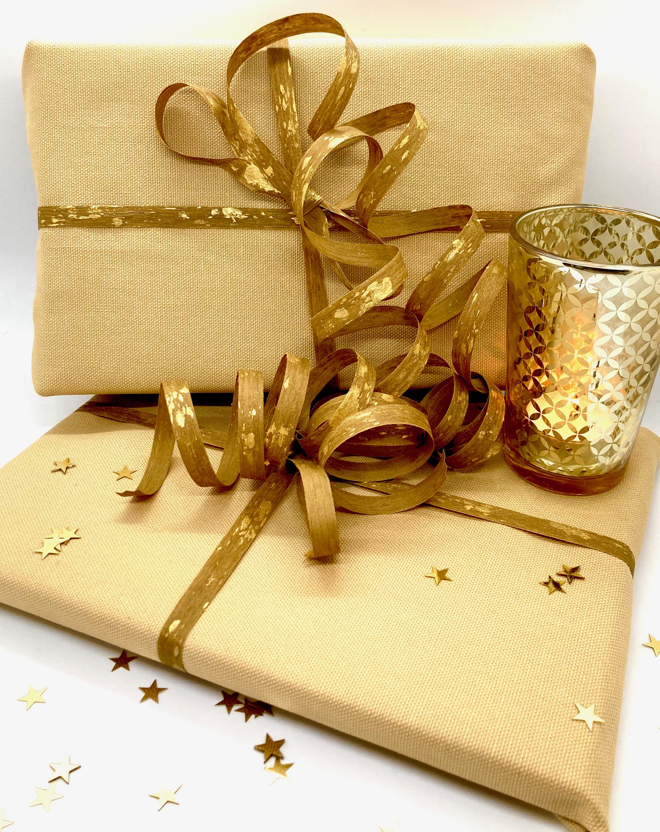 Advent ganz Gold (50x35cm, 60x45cm)
