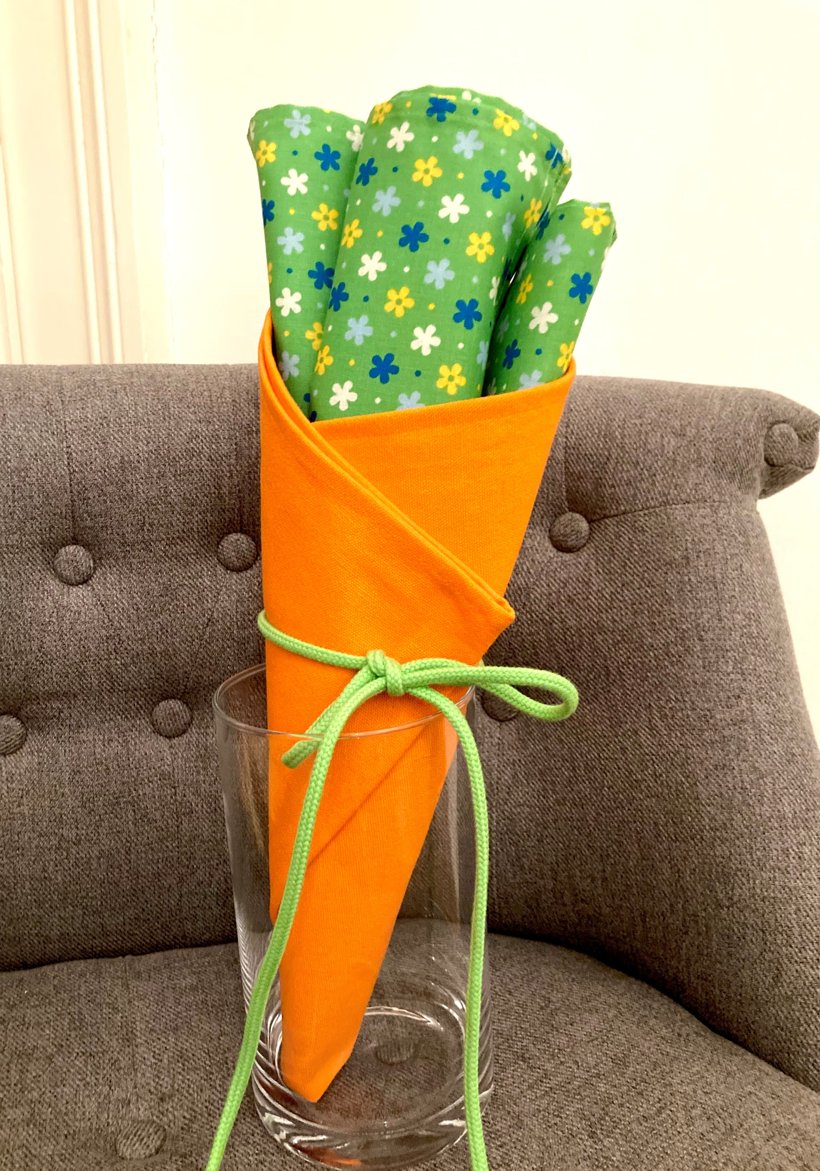 Einfach Frühlings-Karotte (60x45cm, 70x50cm)